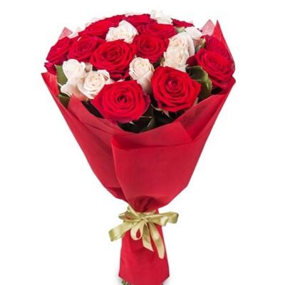 """Букет из 25 роз """"Натали"""""""