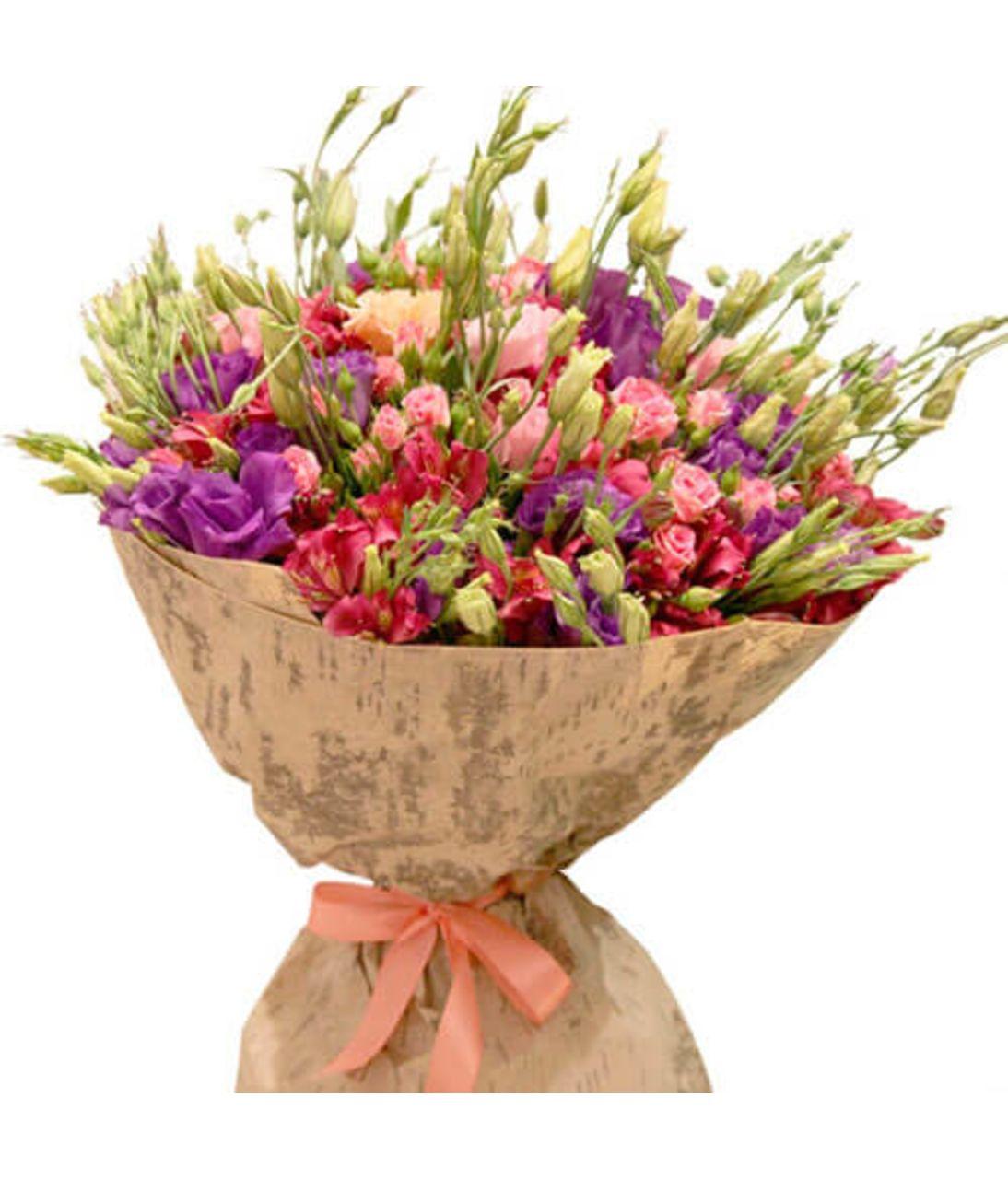 """Сборный букет цветов """"Аромат весны"""""""
