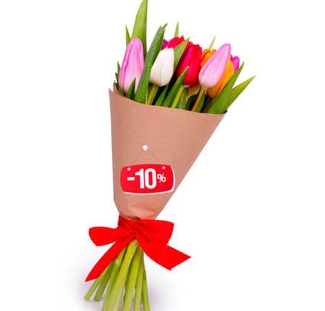 15 тюльпанів мікс. Superflowers.com.ua