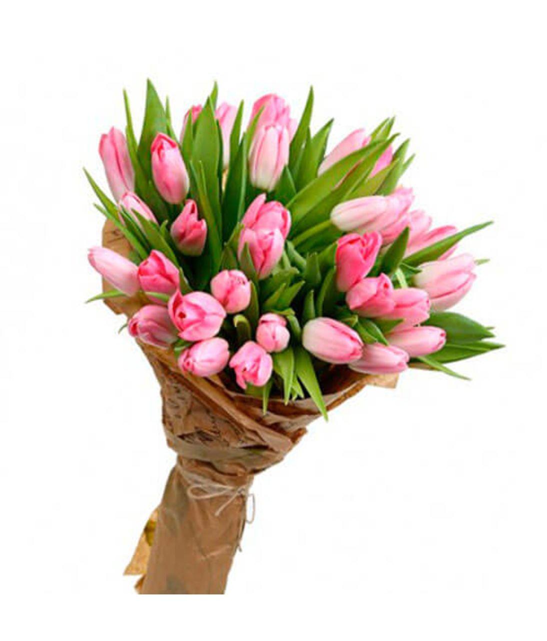 Букет з 29 тюльпанів. Superflowers.com.ua