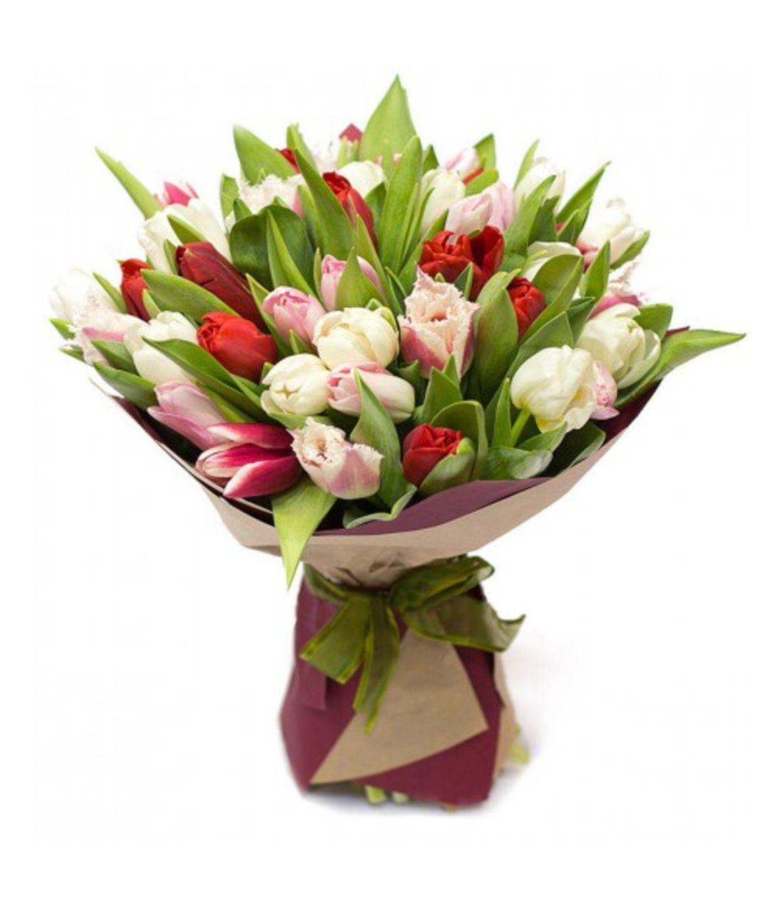 """Букет з тюльпанів """"Наші мрії"""""""