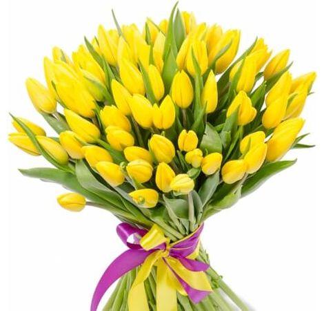 "Букет тюльпанів ""Загадка"". Superflowers.com.ua"