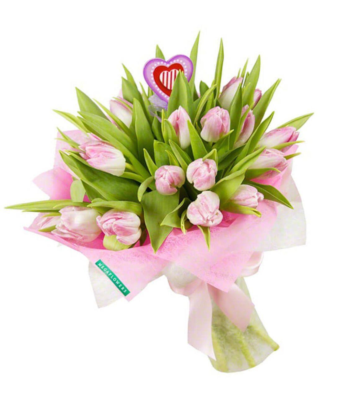 """Букет тюльпанов """"Блаженство"""". Superflowers.com.ua"""
