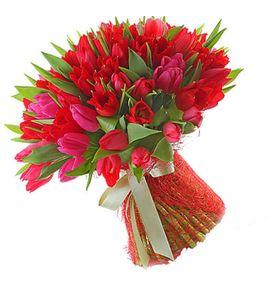 """Букет тюльпанів """"Чарівна"""""""