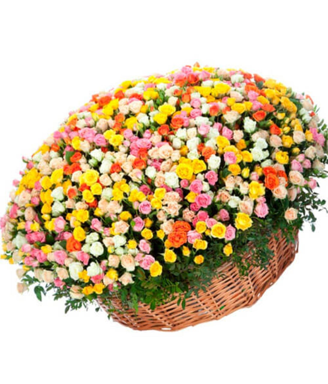 Букет з 301 кущовий троянди. Superflowers.com.ua. Замовити букет в інтернет-магазині Супер Фловерс