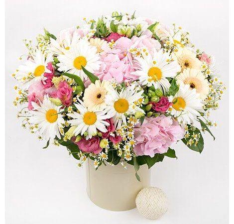 Большой летний букет цветов. Superflowers.com.ua