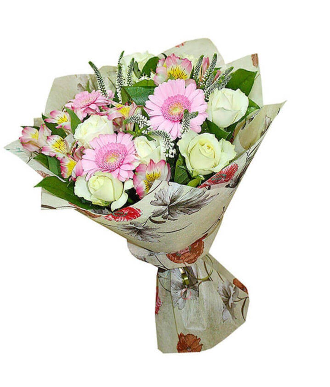 """Букет квітів """"Ніжність"""". Superflowers.com.ua"""