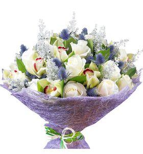 """Букет квітів """"Казковий вечір"""""""