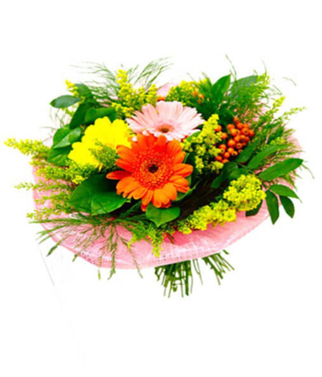 """Букет квітів """"Знову в школу"""". Superflowers.com.ua"""