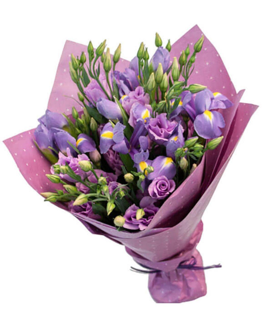 """Букет цветов микс """"Вероника"""". Superflowers.com.ua"""