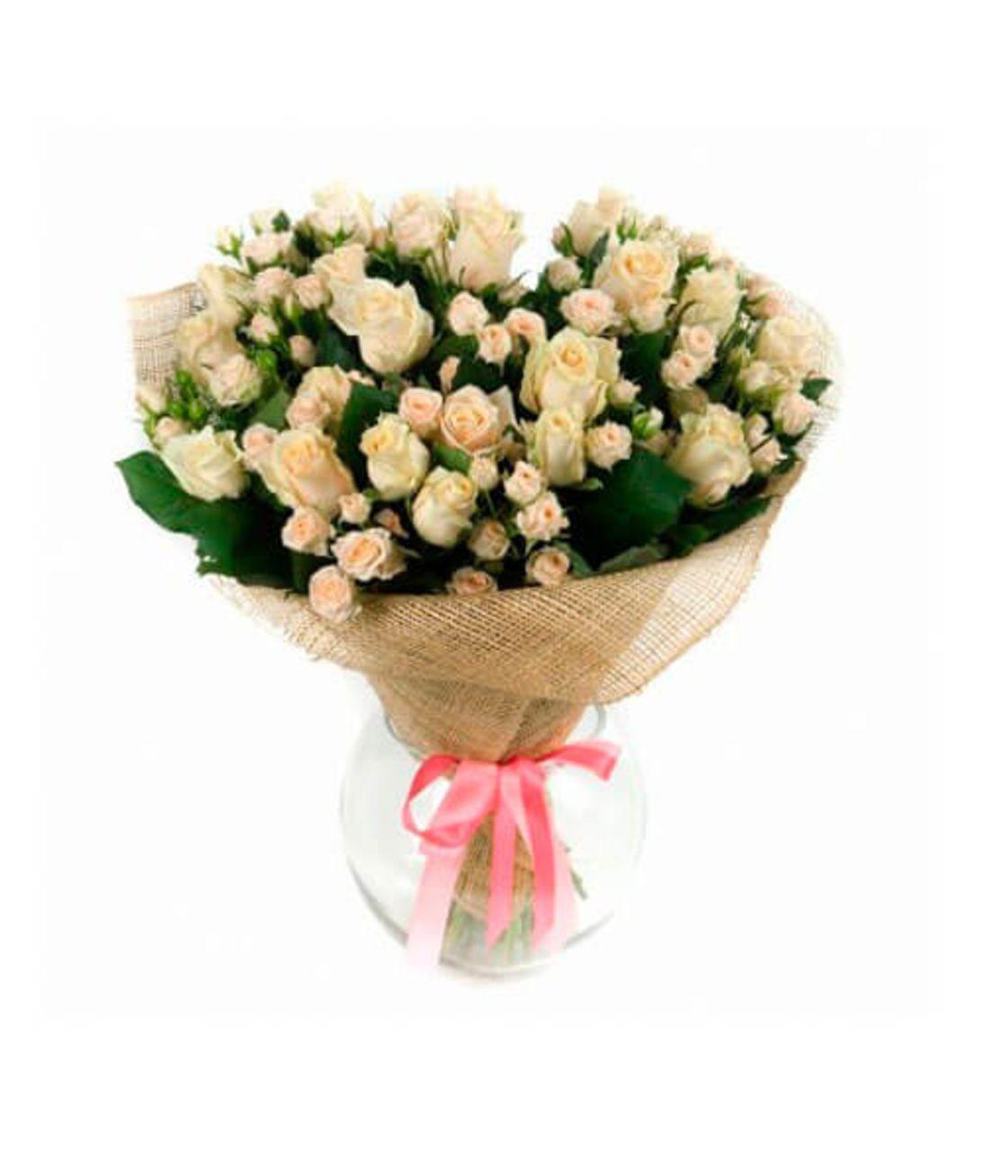 """Букет из кустовых роз """"Софи"""". Superflowers.com.ua"""
