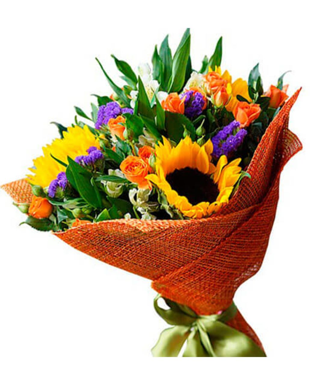 "Букет из подсолнухов ""Летний сон"". Superflowers.com.ua"