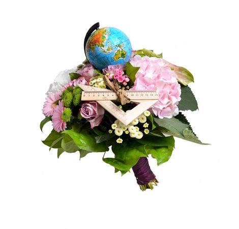 "Букет на 1 сентября ""Глобус"". Superflowers.com.ua"