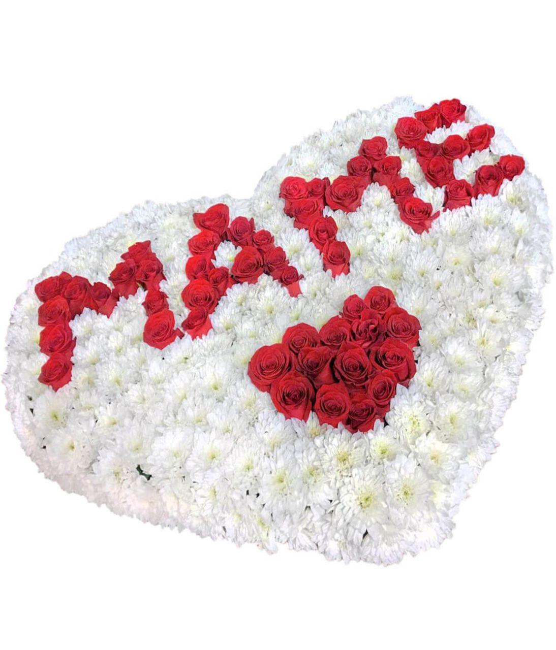 """Букет роз маме """"Большое сердце"""". superflowers.com.ua. Купить цветы для мамы с доставкой"""