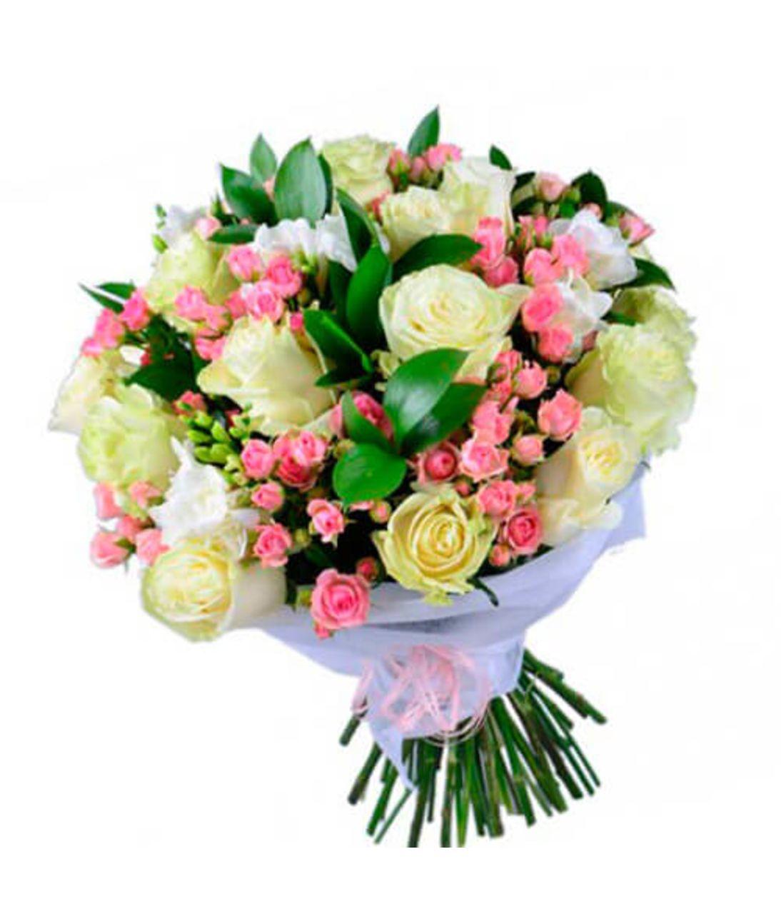 """Букет троянд """"Весняний настрій"""""""