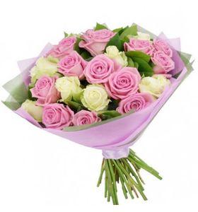 """Букет квітів 25 троянд """"Пікантність"""""""