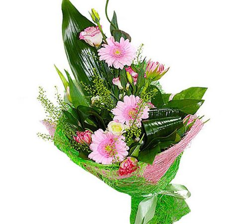 "Букет Гербер ""Феерия"". Superflowers.com.ua"