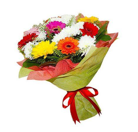 """Букет Гербер """"Наслаждение"""". Superflowers.com.ua"""