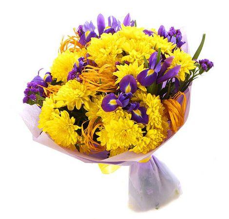 "Букет микс ""Радуга чувств"". Superflowers.com.ua"