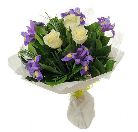 """Сборный букет цветов """"Праздник лета"""". Superflowers.com.ua. Купить красивые сборные букеты"""