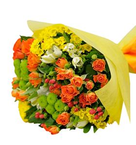 """Збірний букет квітів """"Подих свіжості"""""""