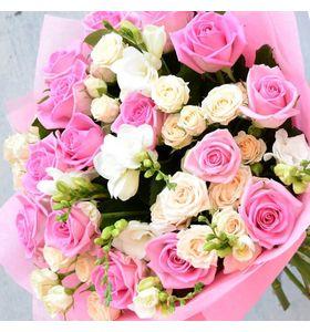 """Збірний букет квітів """"Квітковий мікс"""""""