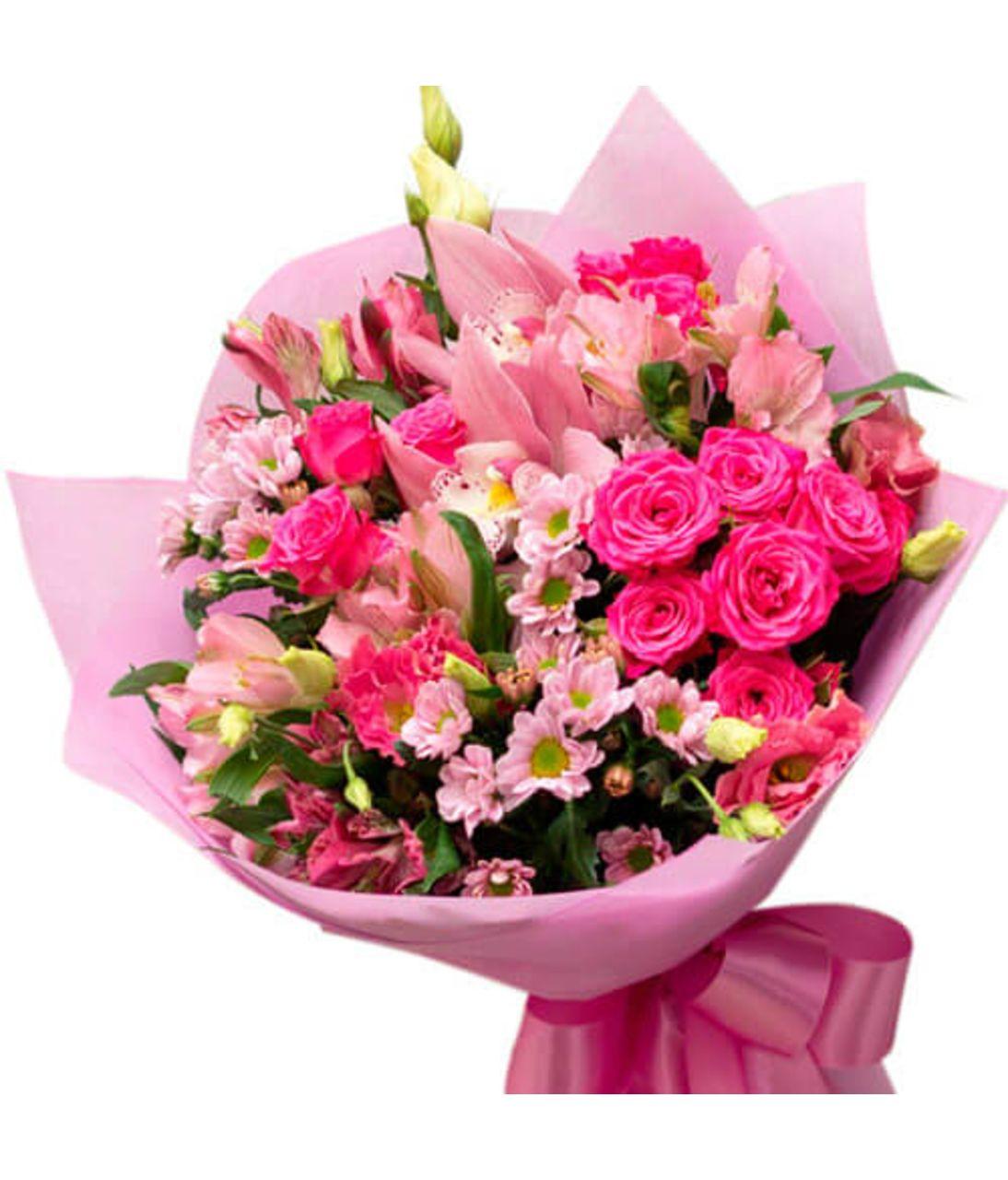 """Сборный букет цветов """"Венеция"""""""