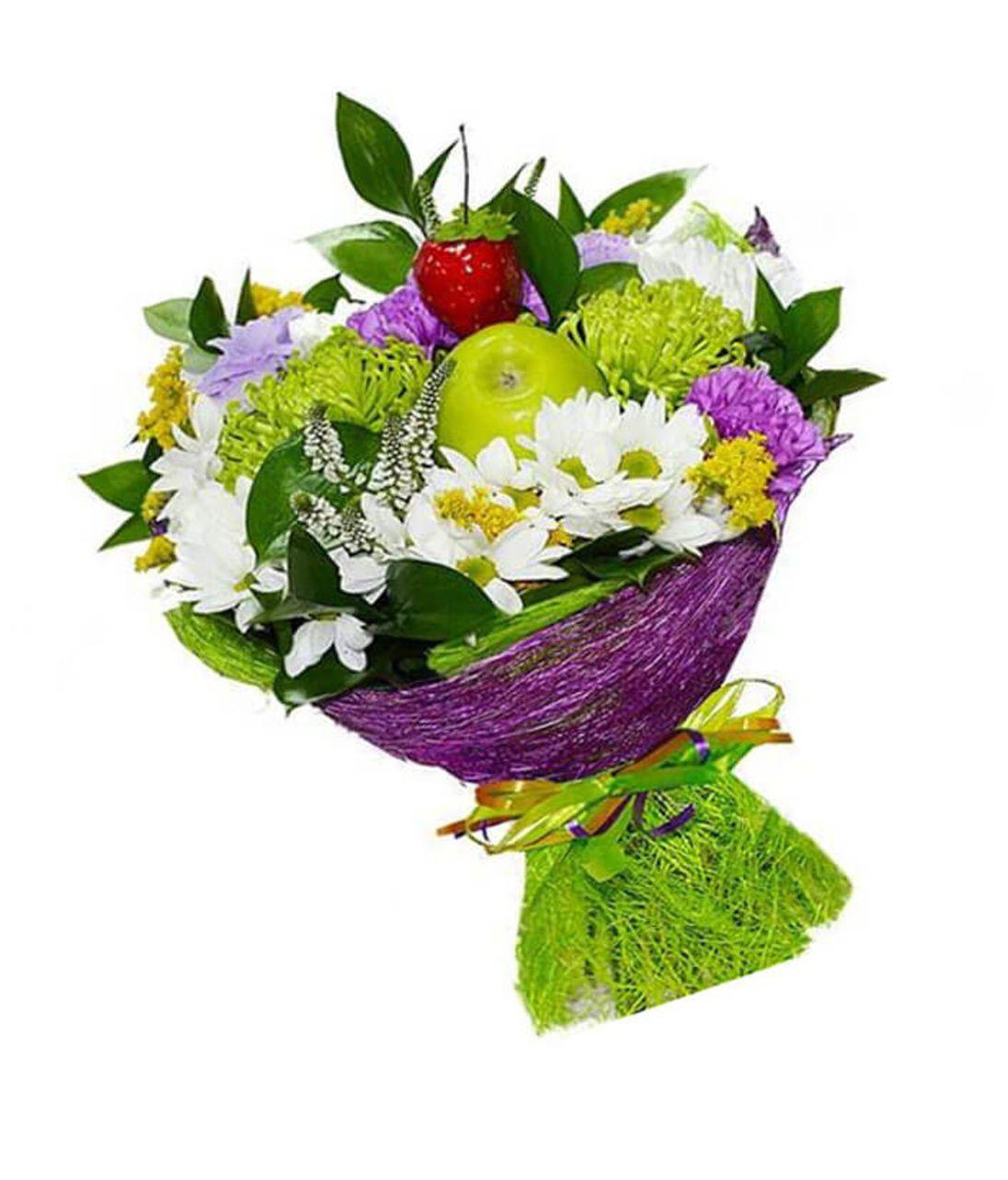 """Букет Хризантем """"Счастливый день"""". Superflowers.com.ua"""