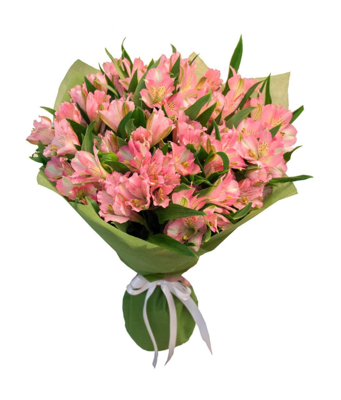"""Букет альстромерий """"Воплощение красоты"""". Superflowers.com.ua"""