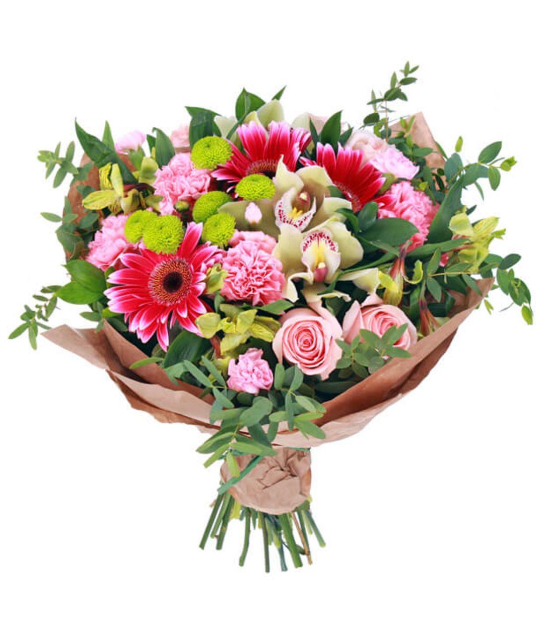 "Букет гербер ""Яркий день"". Superflowers.com.ua"